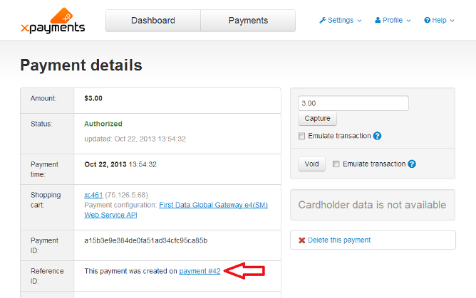 XP2.0 initial payment link.png