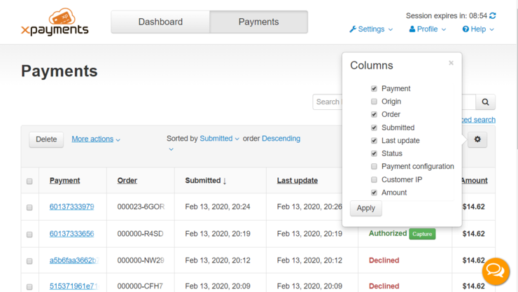 Xpc payments table columns.png