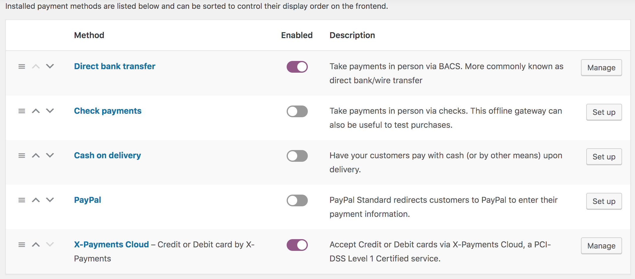 X-Payments as a payment method in WooCommerce